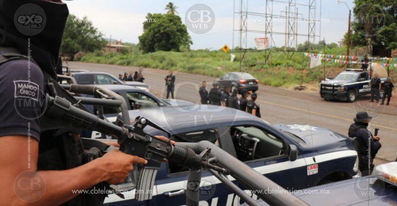 """Policías y gatilleros protagonizan balacera en el cerro de """"Los Ahorcados"""""""