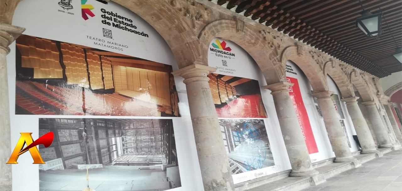 "Teatro Matamoros un ""barril sin fondo""; inyectarán 120 mdp más"