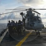 Armada de México rescata a pescador herido a bordo de buque en Lázaro Cárdenas