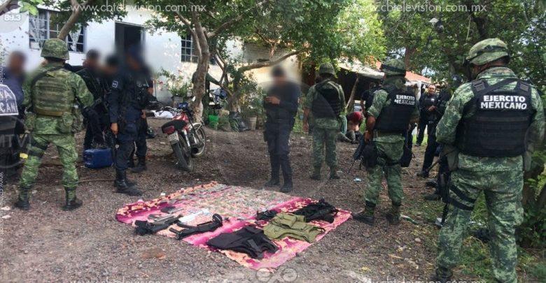 Cuatro presuntos gatilleros son detenidos tras una balacera contra policías y soldados