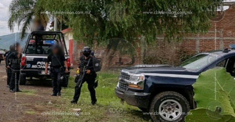 """Hombre es asesinado a tiros en """"El Alcalde"""", Apatzingán"""