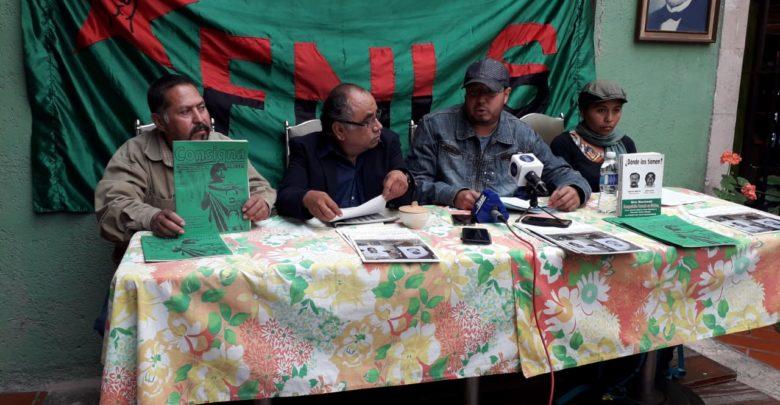 Jesus Hernández Reyes de la comisión de prensa y propaganda del Frente Nacional