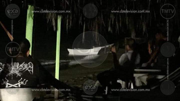 Secretaría de Marina detecta una embarcación cargada de droga en playas de Lázaro Cárdenas
