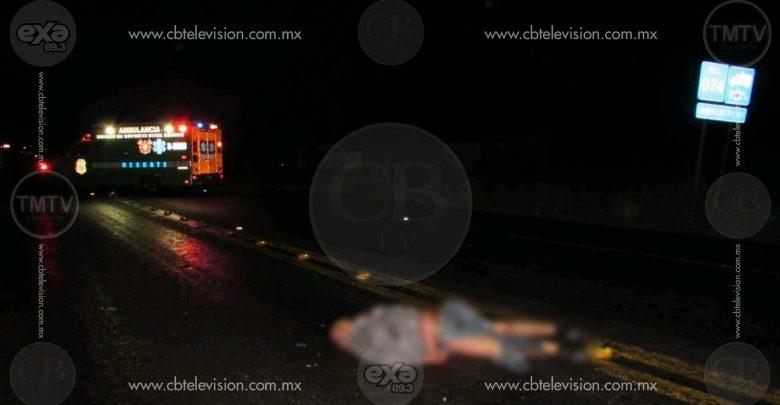 Muere en accidente de motocicleta trabajador de la Central de Abastos de Canindo
