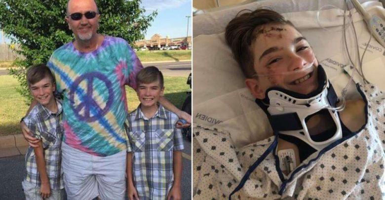 Abuelo muere por salvar la vida de su nieto en un accidente