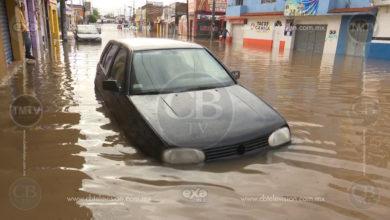 Las fuertes y constantes lluvias de la madrugada del 22 de octubre