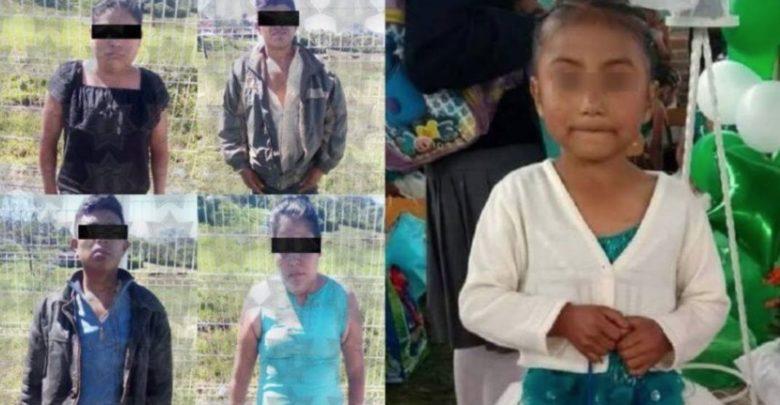 Por riñas familiares mataron a Itzel de seis años, le dispararon en la cabeza