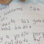 'Dijiste que te teníamos harta': Niña de 12 años deja carta y se fuga con su hermana de cinco años
