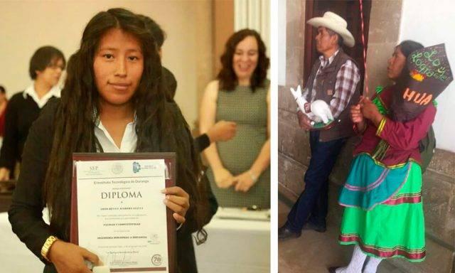 Festejo de familia indígena por graduación de su hija conmueve a todo México