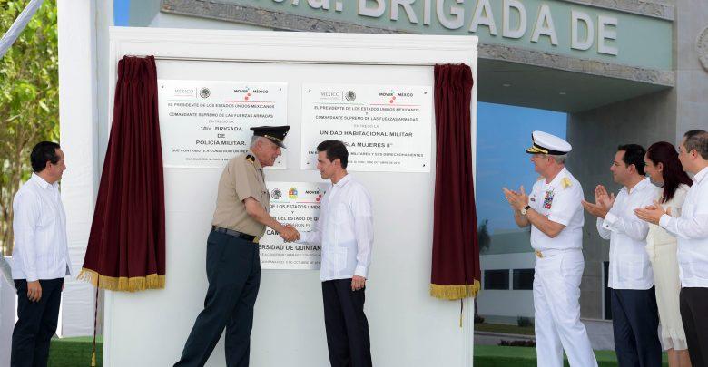Inversiones por más de 35 mil mdp en infraestructura para el Ejército, la Fuerza Aérea y la Armada de México