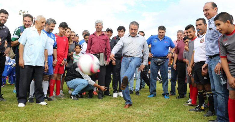Ayuntamiento dignificará la Liga Municipal de Fútbol de Morelia