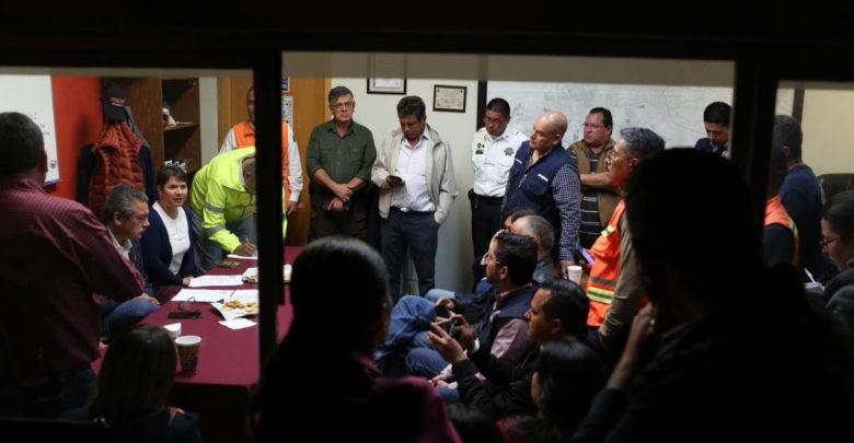 Instala Gobierno Municipal Centro de Mando para Emergencias
