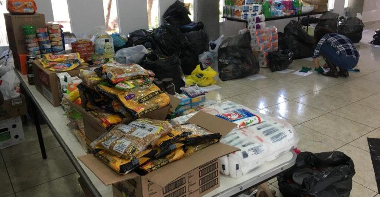 DIF Municipal, recibe donación de víveres para damnificados