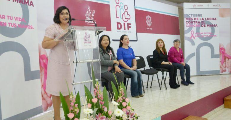 Ayuntamiento de Morelia mostrará compromiso y solidaridad en la lucha contra el Cáncer de Mama