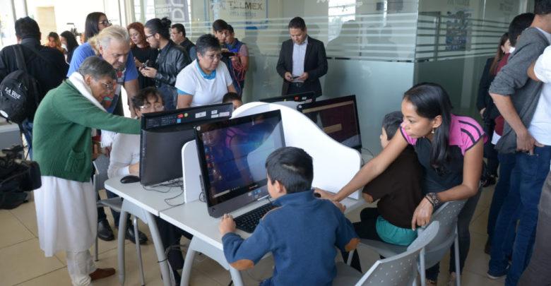 Inauguran biblioteca virtual en el Colegio de Morelia