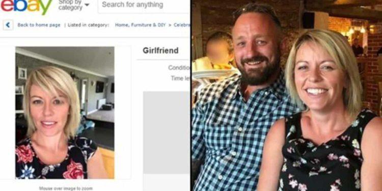 """""""Vendo novia usada"""": Hombre pone en venta a su novia por eBay"""