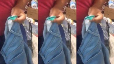 Mujer enseña a robar ropa con un condón y se viraliza en redes