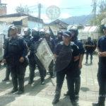 Comuneros de Nahuatzen denuncian represión por parte de la policía estatal