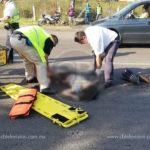 Mujer pierde la vida al ser atropellada sobre la carretera Morelia a Quiroga