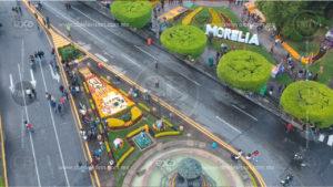 Morelianos conmemoran exitosamente el Día de Muertos