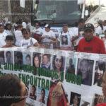 Caravana busca desaparecidos en Lázaro Cárdenas