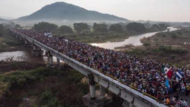 Trump amenaza con abrir fuego contra la caravana de migrantes
