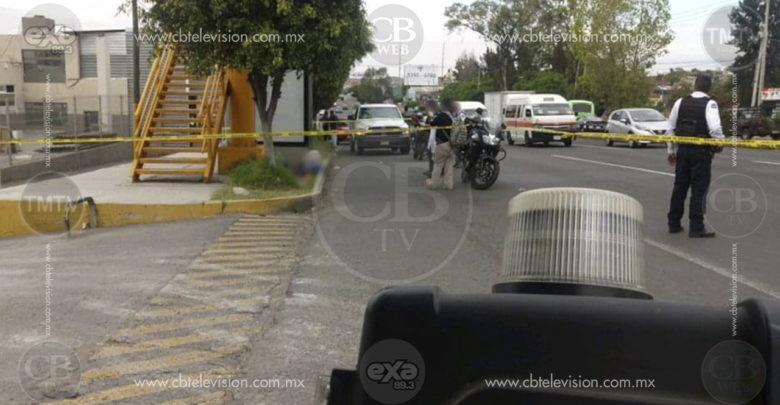 Adulto mayor sufre infarto y muere mientras caminaba en la Avenida Morelos Norte