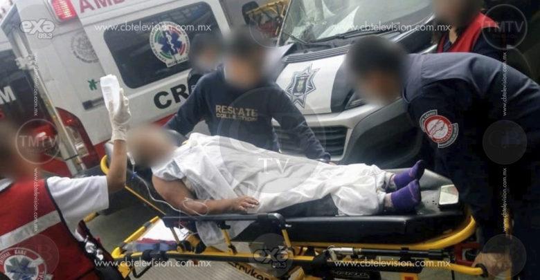 Anciana moreliana queda herida al sufrir agresión con arma blanca por posible asalto