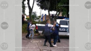 Arrestan a tres presuntos ladrones de casas en colonia de Morelia
