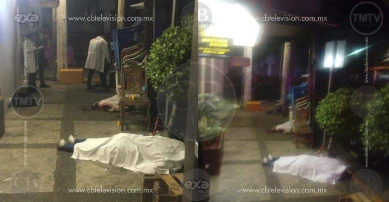 Asesinan a tiros a uno en Acapulco y se dan a la fuga
