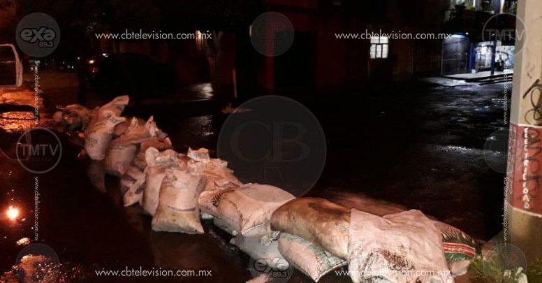 Ayuntamiento de Morelia mantiene vigilancia en las zonas propensas de inundaciones