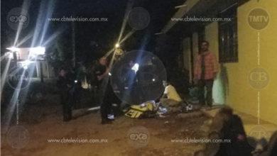 Balacean a hombre en población de Uruapan, queda gravemente herido