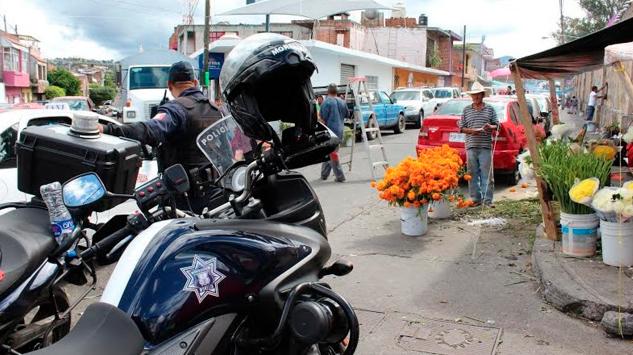 Policía Morelia vigilará los panteones con más de 400 efectivos