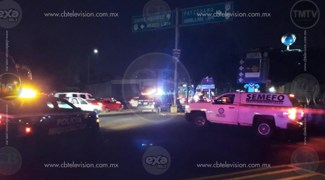 Sexagenario muere atropellado en el Libramiento Norte de Morelia