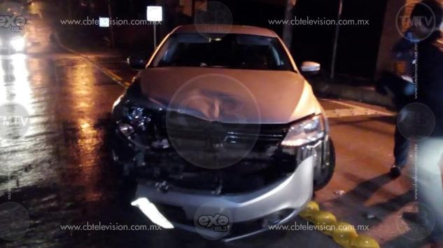 Ocurren 2 accidentes viales en la entrada al Ramal Camelinas en menos de 10 horas