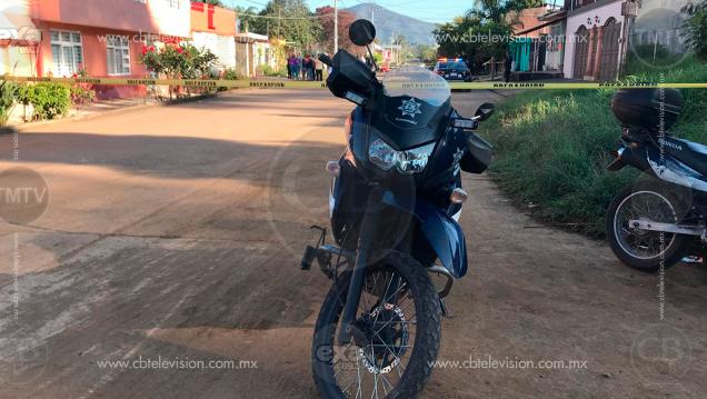 Motosicarios asesinan a un hombre en la puerta de su hogar