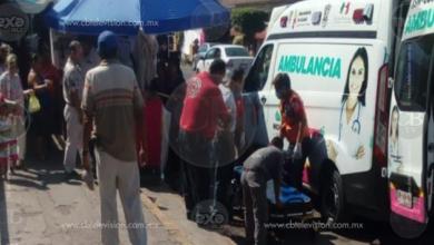 Herido al caer de las escaleras de la Catedral de Apatzingán