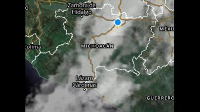 Continuará la lluvia y baja temperatura en la capital michoacana