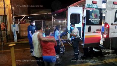 Motociclista queda herido al ser baleado en Jacona