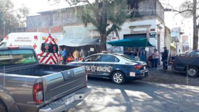 MORELIA:Muere hombre en puesto de comida