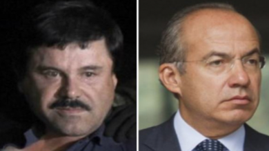 "Felipe Calderón se reunió con el Cártel de Sinaloa: ""La Barbie"""