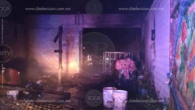 Se incendian dos humildes casas en la colonia irregular José Vasconcelos