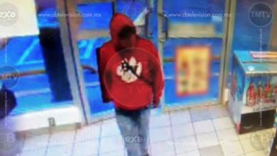 Delincuente asalta tienda en Morelia