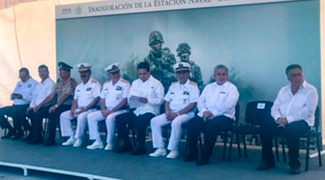 """Secretaría de Marina- Armada de México inaugura """"la Estación Naval de Coahuayana"""""""