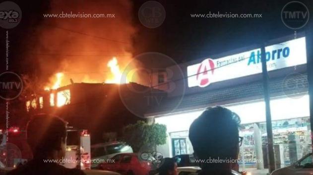 Dos incendios de casa habitación se registraron la noche del martes en