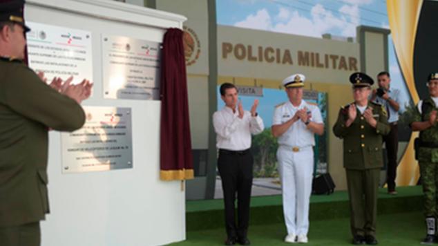 En materia de infraestructura militar y naval, misión cumplida: EPN
