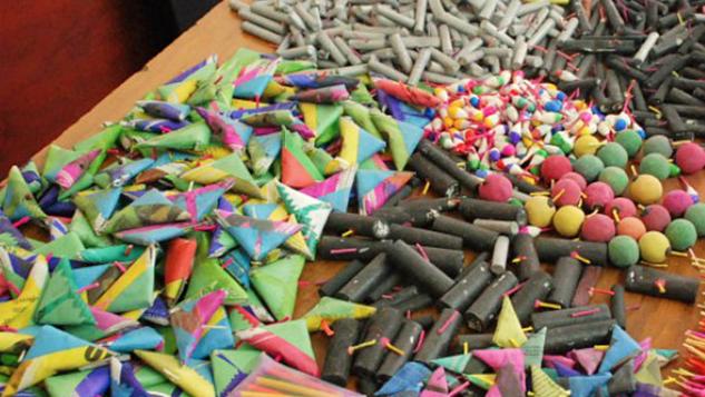Decomisarán cohetes peligrosos en Zitácuaro