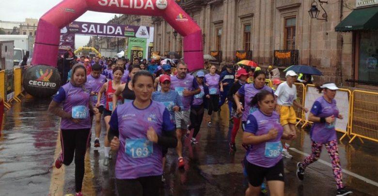 Atletas corrieron en apoyo al Hospital Infantil de Morelia
