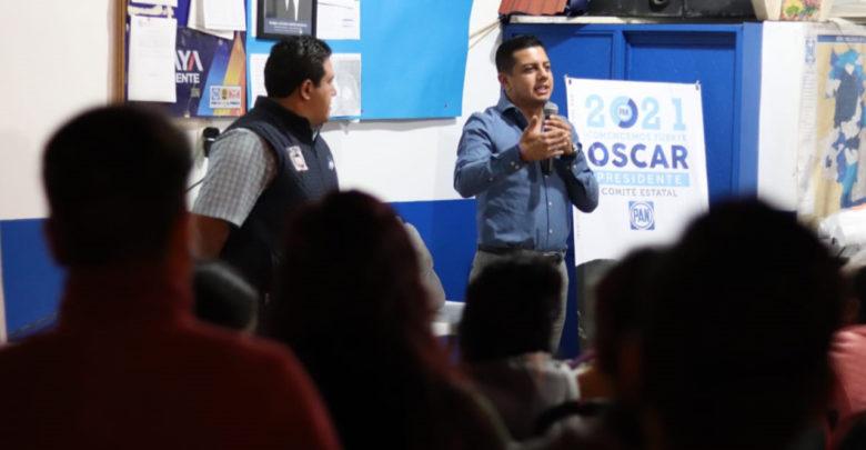 Continuamos en el camino por un PAN unido y cercano: Óscar Escobar