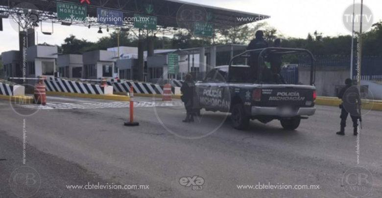 Despliegan SSP y Sedena operativo para impedir el robo de automotores y otros delitos en Michoacán